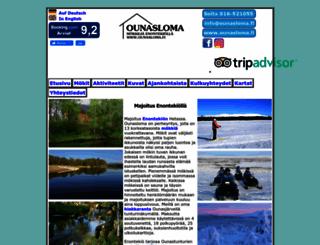 ounasloma.fi screenshot