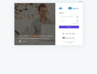 our-dot-sandbox-dot-agilecrmbeta.appspot.com screenshot