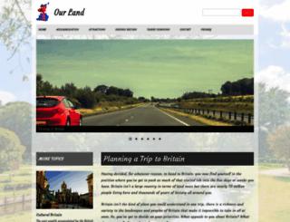 our-land.co.uk screenshot