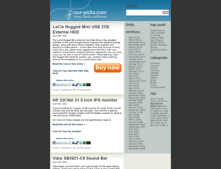 our-picks.com screenshot