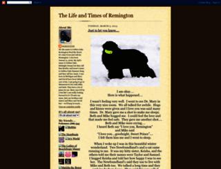 our-remington.blogspot.ca screenshot