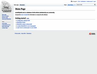 ourabilitywiki.com screenshot