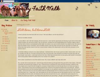ouradoptionfaithwalk.blogspot.com.au screenshot