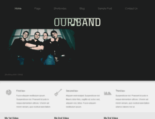 ourband.themes4all.com screenshot
