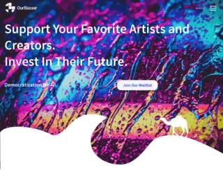 ourbazaar.co screenshot