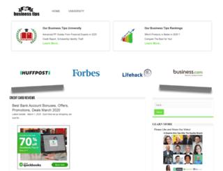 ourbusinesstips.com screenshot