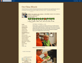 ourchinamiracle.blogspot.com screenshot