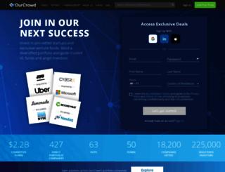 ourcrowd.com screenshot