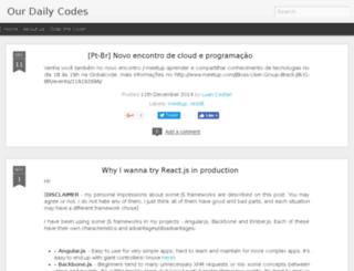 ourdailycodes.com screenshot