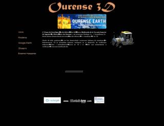 ourense3d.com screenshot