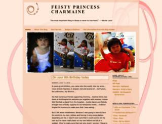 ourfeistyprincess.blogspot.sg screenshot