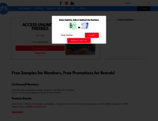 ourfreestuff.com screenshot