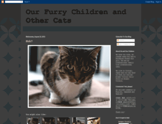 ourfurrychildren.blogspot.com screenshot