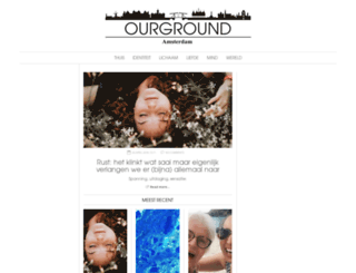 ourground.nl screenshot