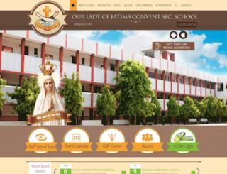 ourladyfatimaschoolgurgaon.org screenshot
