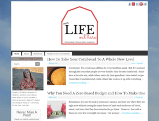 ourlifeouthere.com screenshot