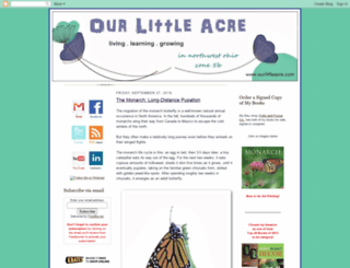 ourlittleacre.blogspot.com screenshot