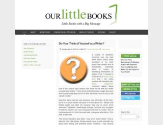 ourlittlebooks.com screenshot