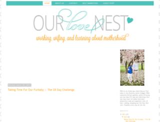 ourlovenestblog.com screenshot