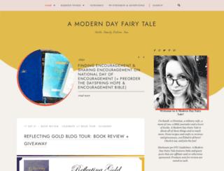 ourmoderndayfairytale.blogspot.com screenshot