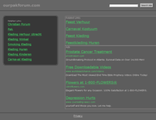 ourpakforum.com screenshot