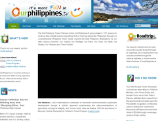 ourphilippines.tv screenshot