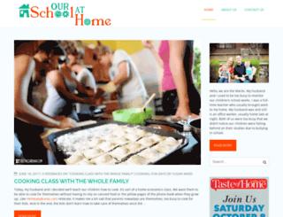 ourschoolathome.com screenshot