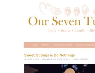 ourseventulips.com screenshot