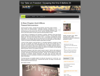 ourtakeonfreedom.wordpress.com screenshot