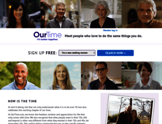 ourtime dating site sign in