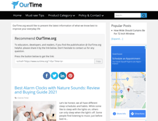 ourtime.org screenshot