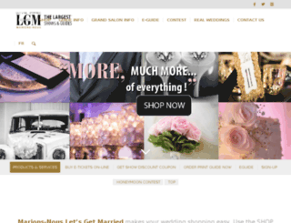 ourweddingwebsite.ca screenshot
