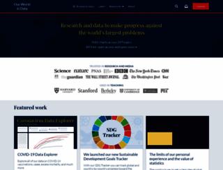 ourworldindata.org screenshot