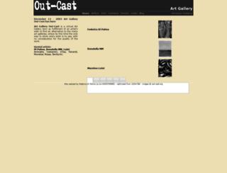 out-cast.org screenshot