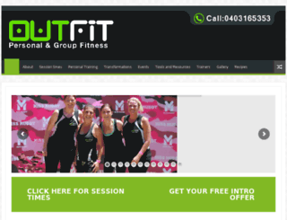 out-fit.com.au screenshot