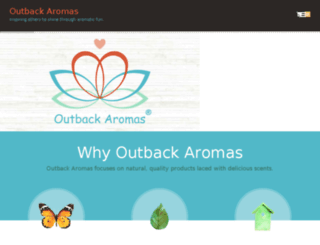 outbackaromas.com screenshot