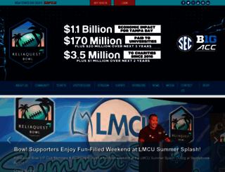 outbackbowl.com screenshot