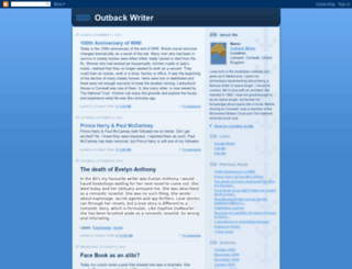 outbackwriter.blogspot.fr screenshot