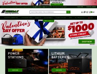 outbaxcamping.com.au screenshot