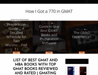 outbeat-the-gmat.blogspot.com screenshot