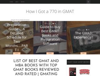 outbeat-the-gmat.blogspot.in screenshot