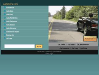 outbikers.com screenshot