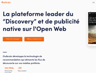 outbrain.fr screenshot