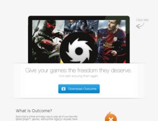 outcome.nofate.me screenshot
