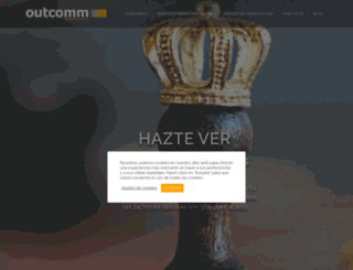outcomm.es screenshot