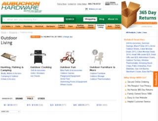outdoor-living.hardwarestore.com screenshot