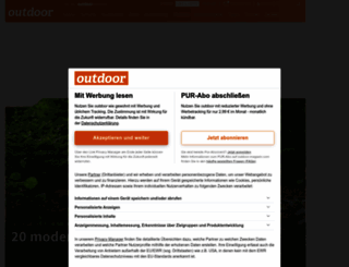 outdoor-magazin.com screenshot