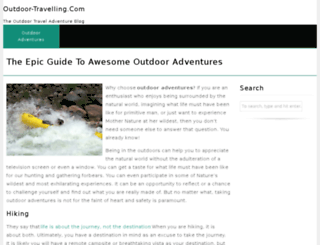 outdoor-travelling.com screenshot