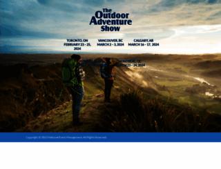 outdooradventureshow.ca screenshot