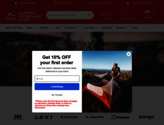 outdooradventurestore.ie screenshot
